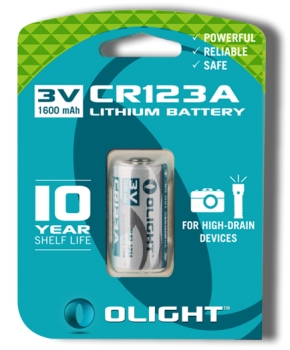 Olight CR123A 1600mAh Batterie