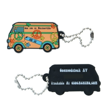 Travel Tag - Hippie Bus - Soft