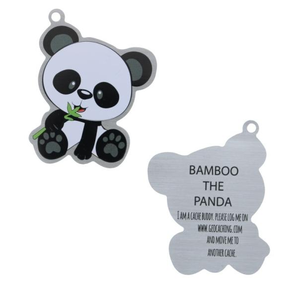 geo-versand Red Panda Traveltag Coin Trackable